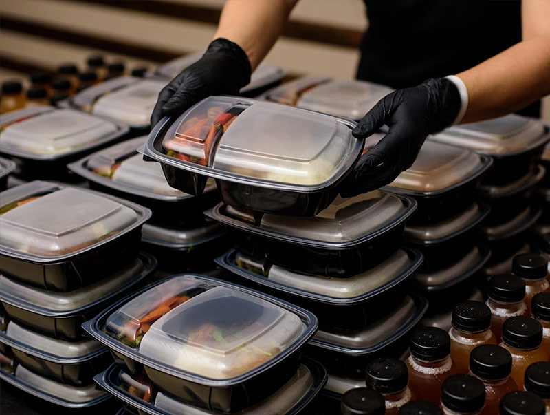 pre packaged meals