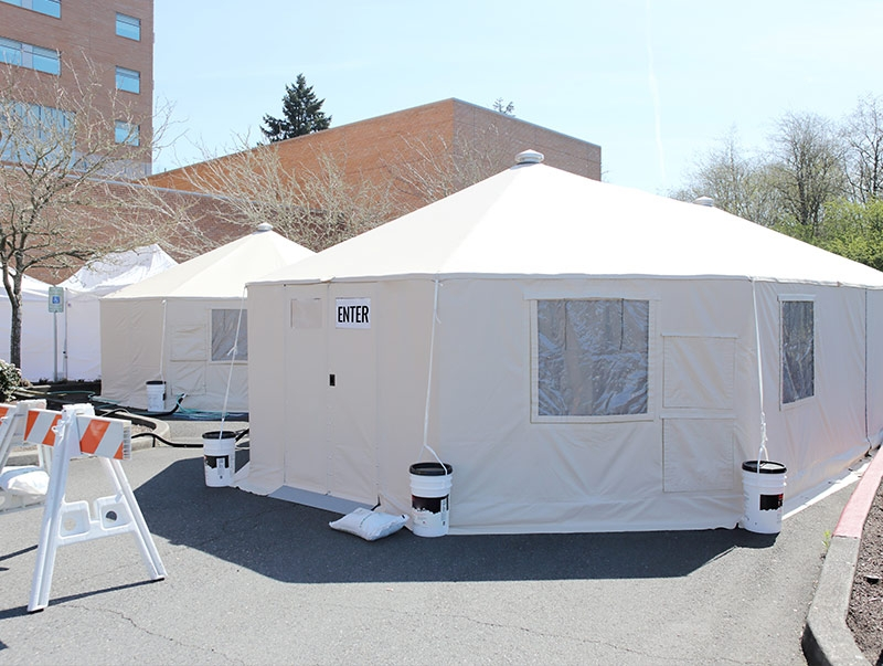 mass care tents